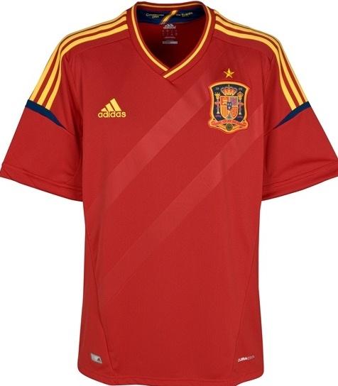 Spain Euro 2012 Home Shirt
