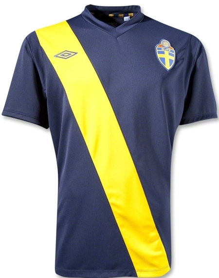 Sweden Away Euro 2012 Kit