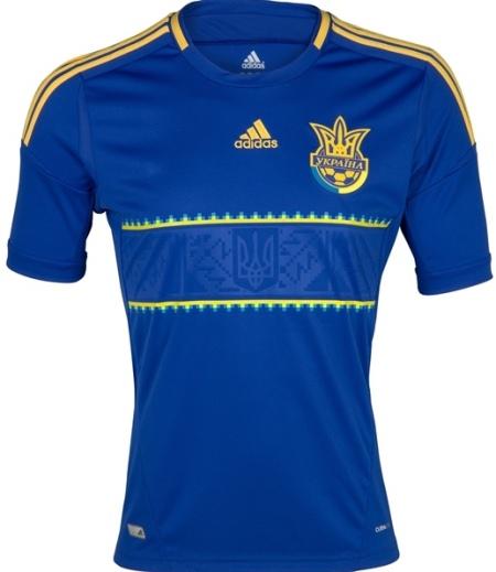 Ukraine Away Euro 2012 Jersey