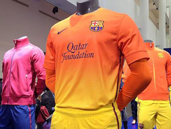 Barca Orange Jersey 2013