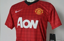 Leaked Man Utd Gingham Shirt 2013