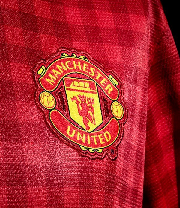 Man Utd New Jersey Gingham