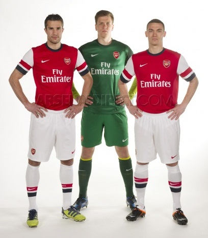 New Arsenal Kit 2012-13