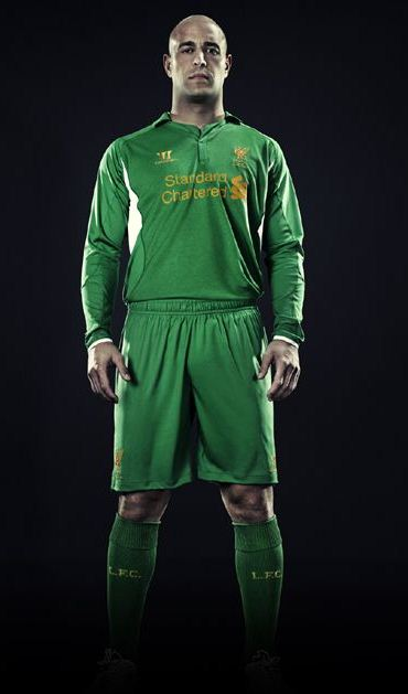 New Liverpool Kit 2012-13 Reina