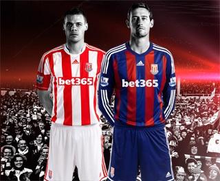 New Stoke City Jersey 2012