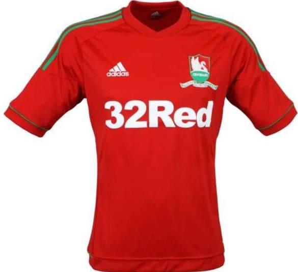 Swansea City Jersey 2012