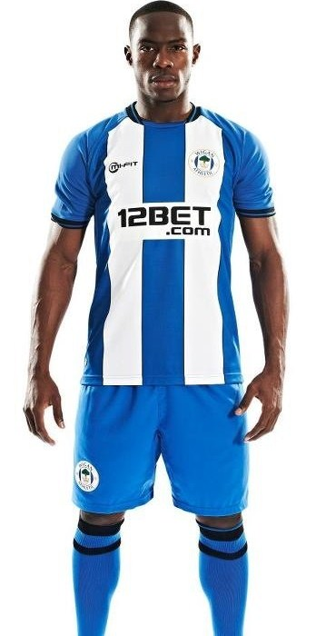 Wigan Athletic New Shirt 2012
