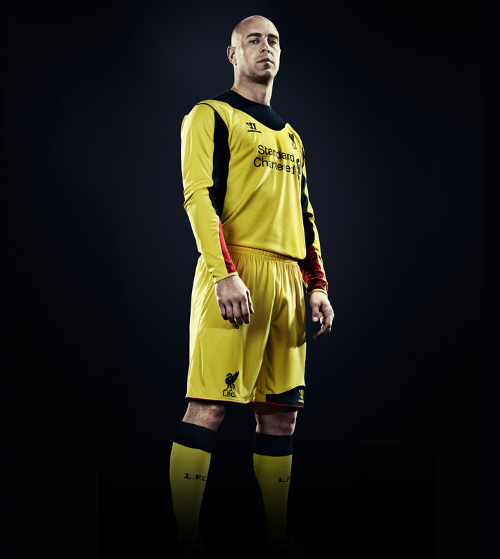 Liverpool Away Goalkeeper Shirt 2013