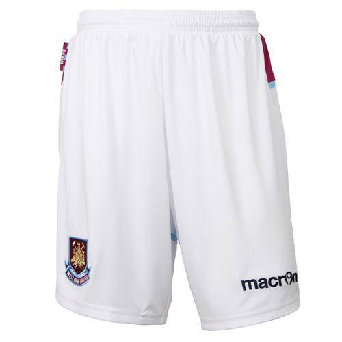 New West Ham Home Shorts 2012