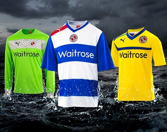 Reading FC Puma Kits 12-13