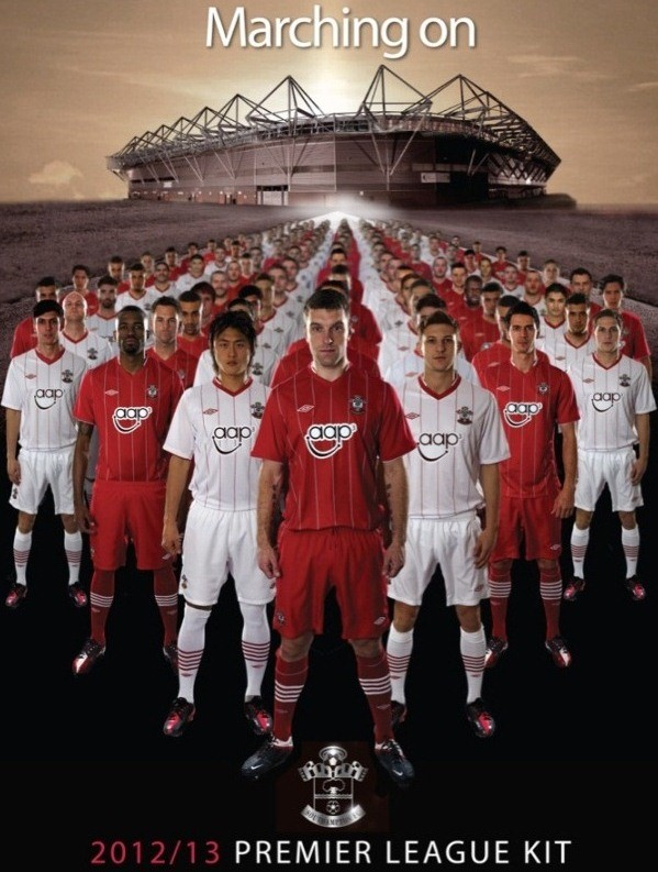 Southampton New Kit 2012-13