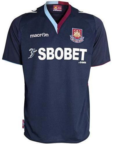 West Ham New Kit 2012-13