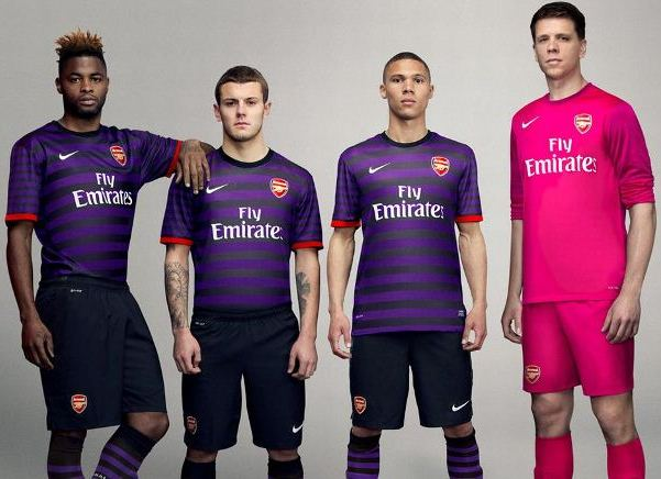 Arsenal New Away Kit 2012 13