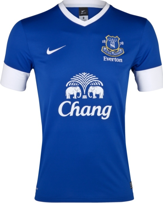 Everton New Nike Home Shirt 2012
