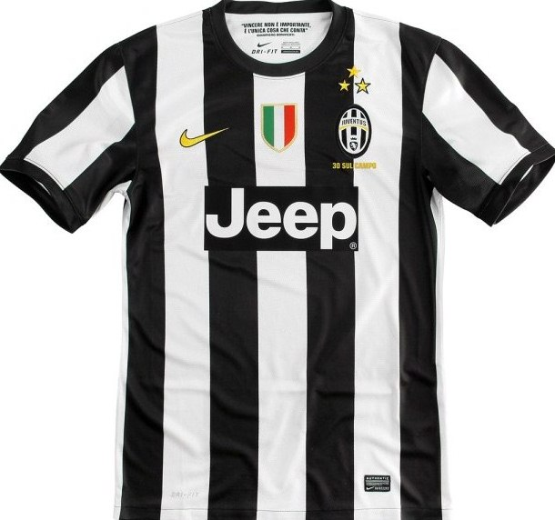 Juventus Home Shirt 2012
