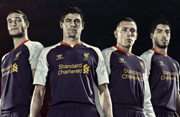 Liverpool Europa League Kit 2012