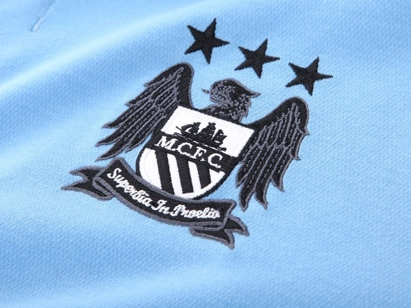 Man City Badge 2012