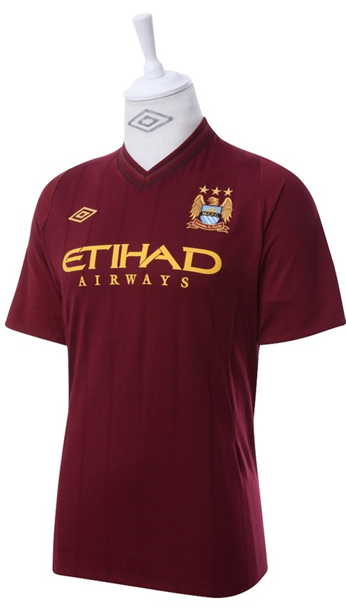 Manchester City New Away Jersey 2013