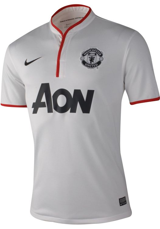 New Manchester United Away Kit 2012 2013  Nike Unveil White Man U Away