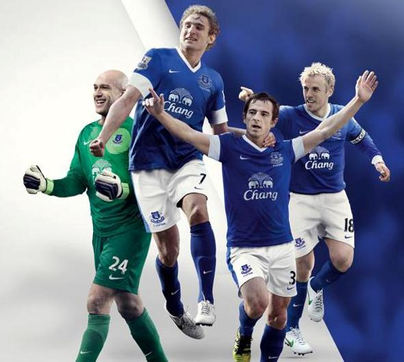 New Everton Home Kit 2012-13