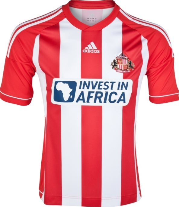 New Sunderland Home Strip 2012/13