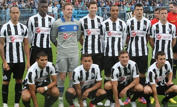 Newcastle Home Shirt 2012 13