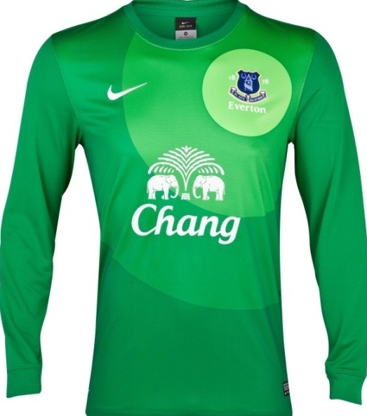 Tim Howard Everton 2012 GK Shirt