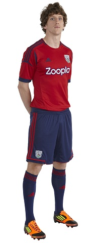 WBA Away Kit 12/13