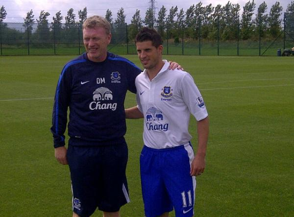 Everton New Third Kit 2012-13 season