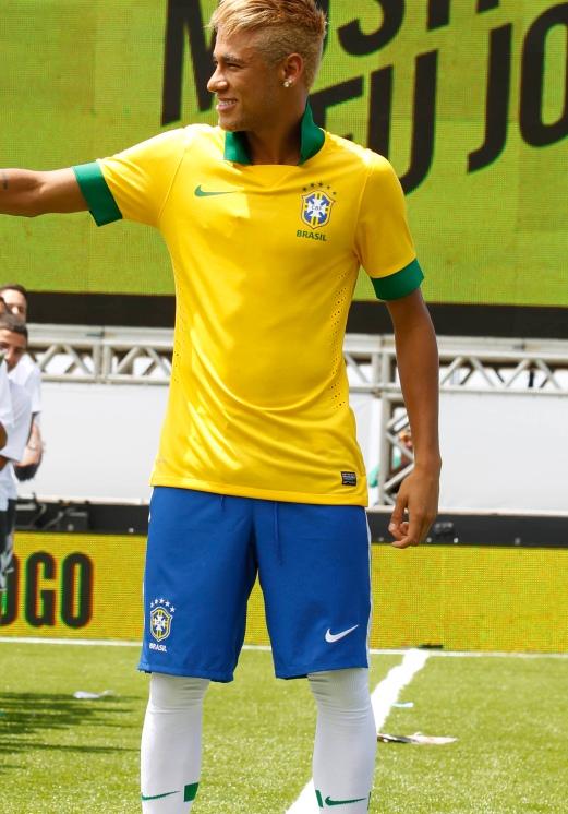 Neymar Brazil New Kit 2013