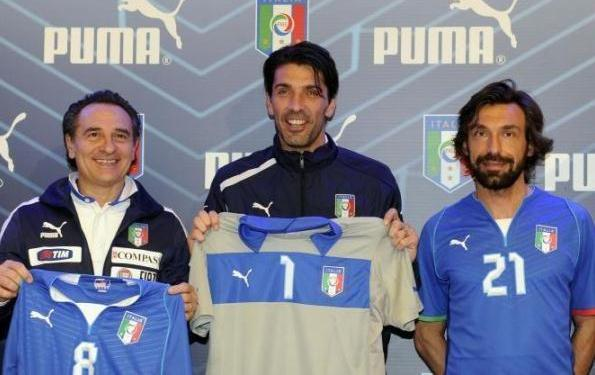 Andrea Pirlo New Italy Kit 2013