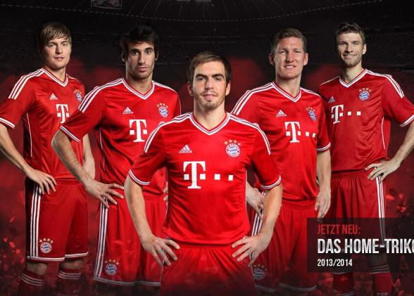Bayern Munich New Jersey 2013