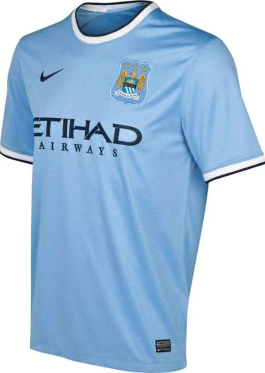 Man City New Kit 2013 14