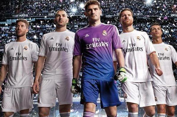 Real Madrid New Jersey 2013 14