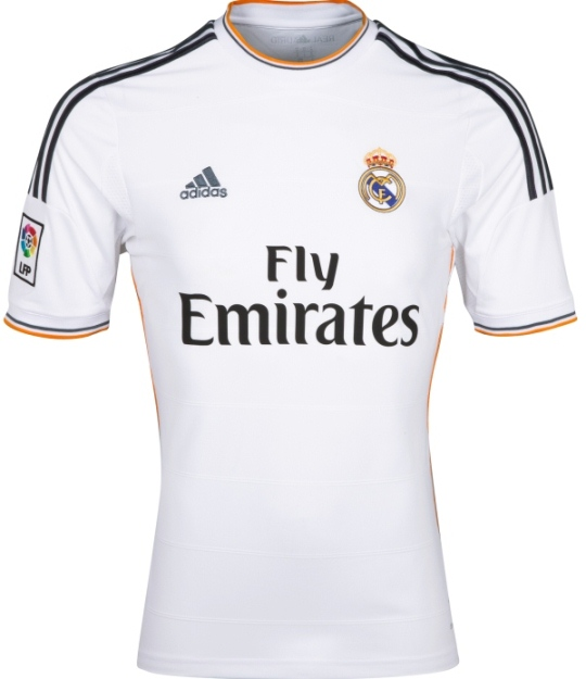 real madrid jersey sponsor