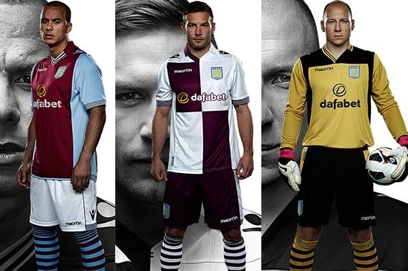 Aston Villa New Kit 2013 14
