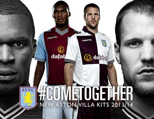 Come Together Aston Villa Jersey 2014