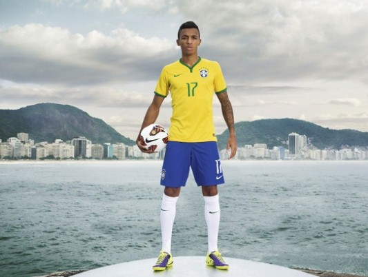 Brazil kit for World Cup 2014 - FootyRoom