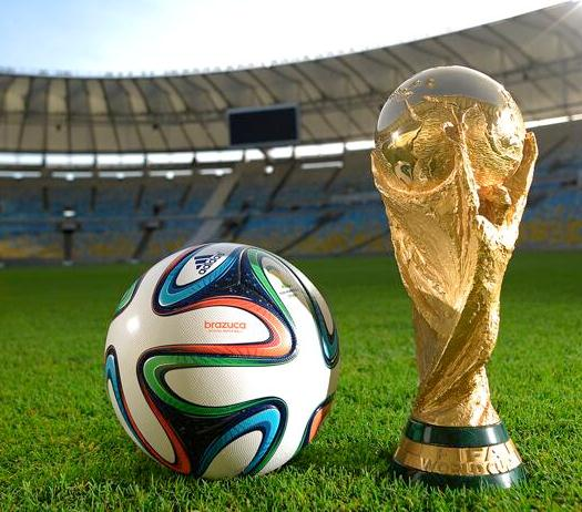 Brazuca Football 2014 World Cup - Official match ball for 2014 football World Cup