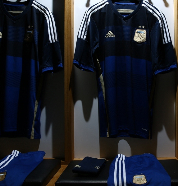 Argentina Away WC 2014 Shirt