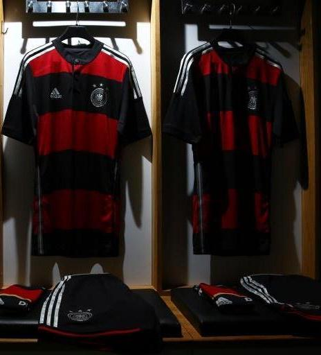 German Away WC Shirt Football