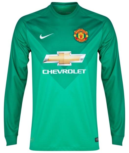 Goalkeeper Jersey MU 2014 15