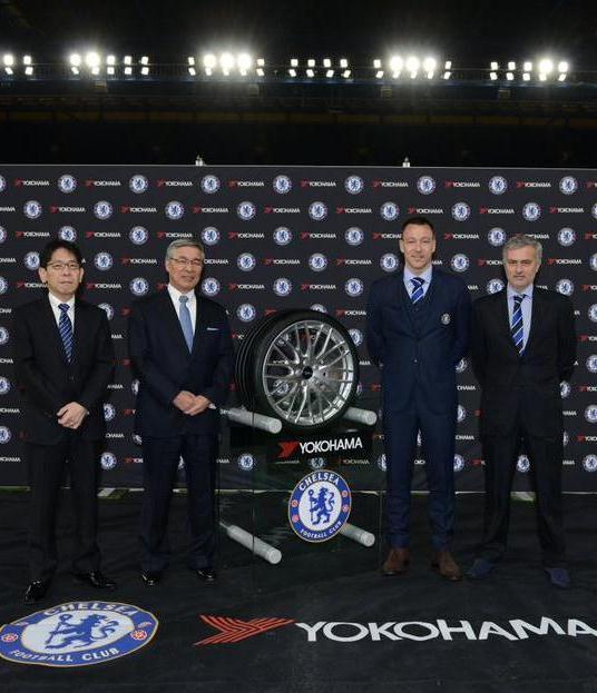 Yokohama Chelsea Shirt Sponsor