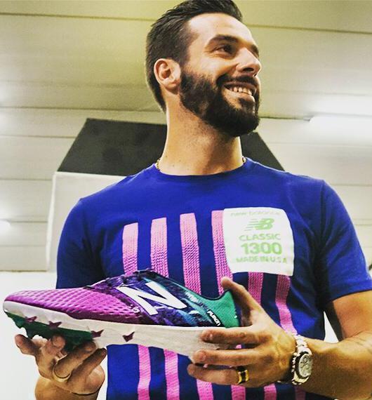 Alvaro Negredo New Balance Boots 2015