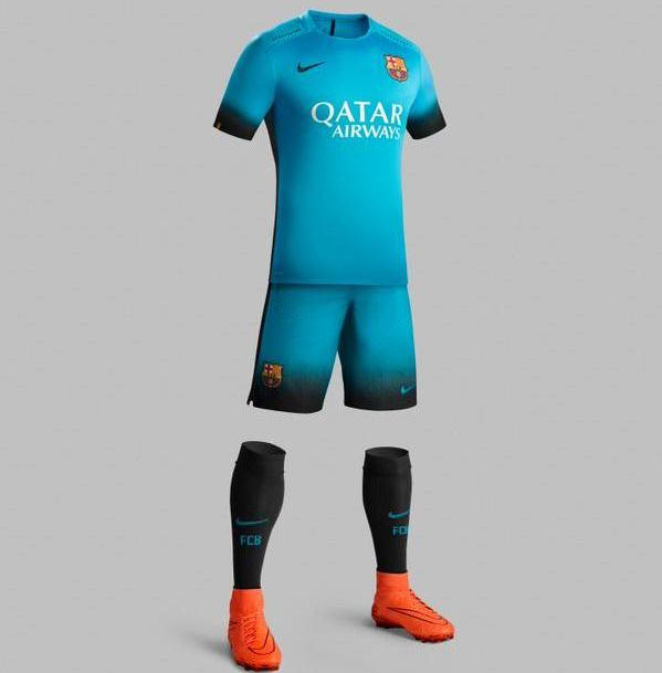 Barcelona 2015 16 Third Kit