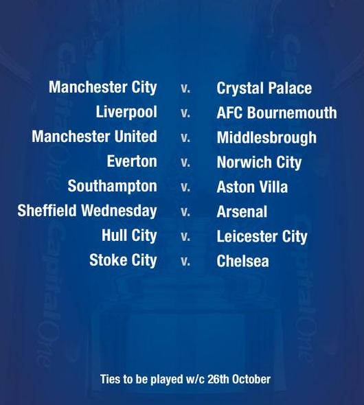 Download Liverpool Vs Middlesbrough 3 0 Epl Video: Capital One Cup Fourth Round Draw 2015-16- Wednesday V