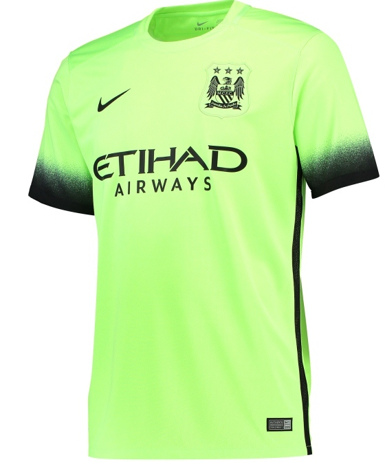 Man City 2015 16 Third Kit