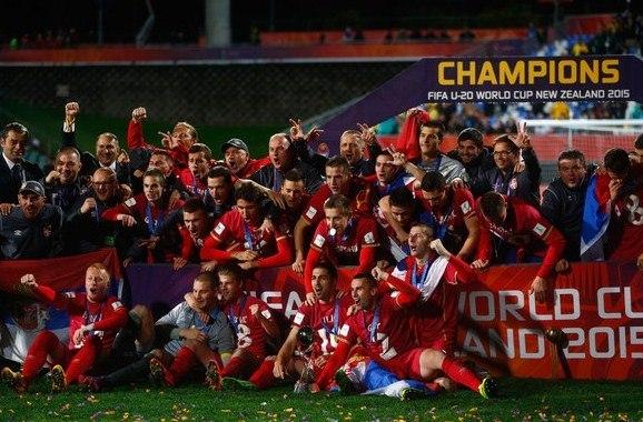 Serbia Brazil U20 Champions