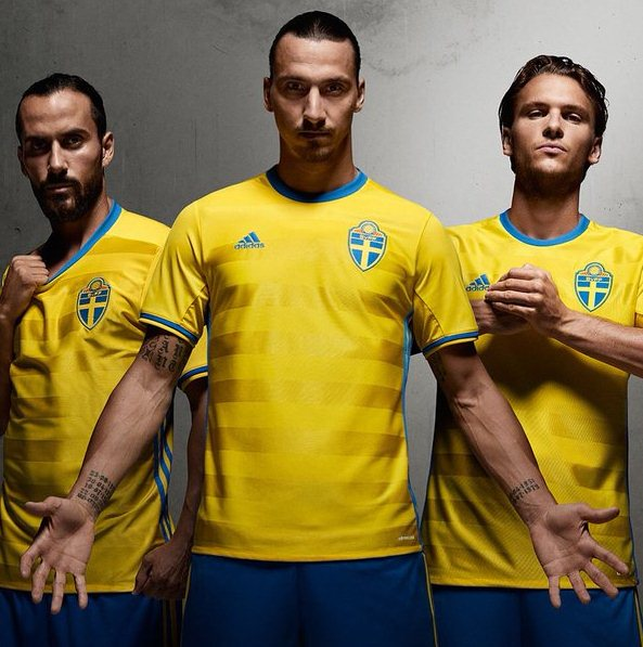 Sweden Football Shirt 2016