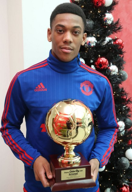 Anthony Martial Golden Boy Award 2015